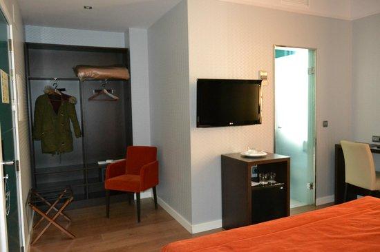 Hotel La Casa de la Trinidad: Habitación/vestidor