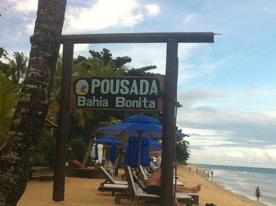 Pousada Bahia Bonita: Bar de praia perfeito