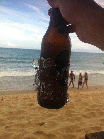 Pousada Bahia Bonita: Cerveja gelada de verdade!