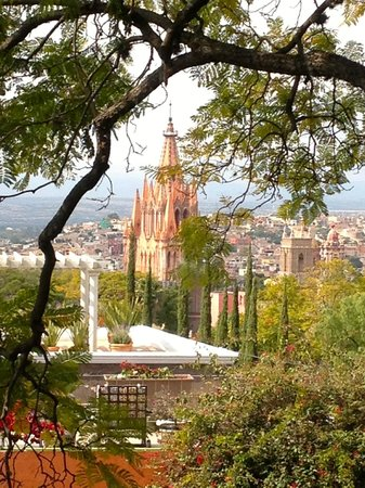 Casa Schuck Boutique Hotel: View of San Miguel from the Royal Suite