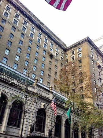 The Fairmont Olympic Seattle : From outside