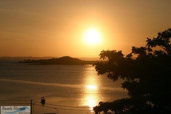 Madre de Deus: Por do sol em nossa linda cidade!