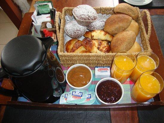Cabanas Rio de las Vueltas: desayuno casero