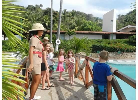 Hyatt Ziva Puerto Vallarta: Ruby at the pool with kids