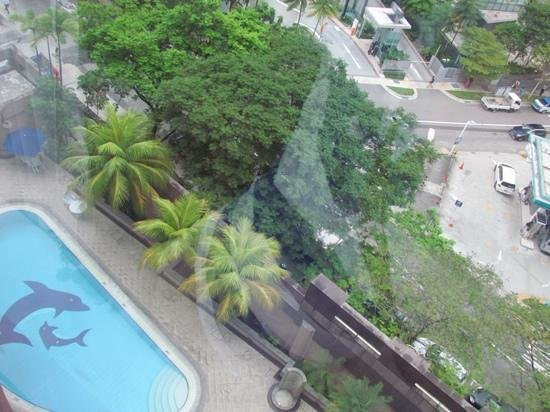 Orchard Grand Court: View of the pool below from room