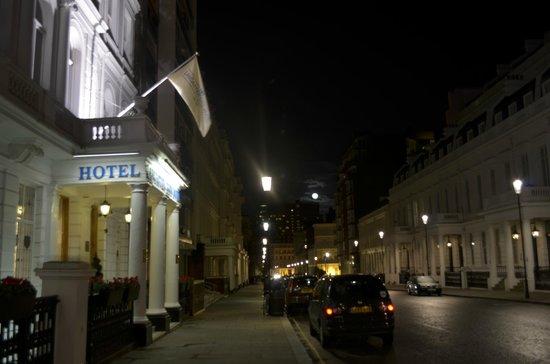 Lancaster Gate Hotel : A rua