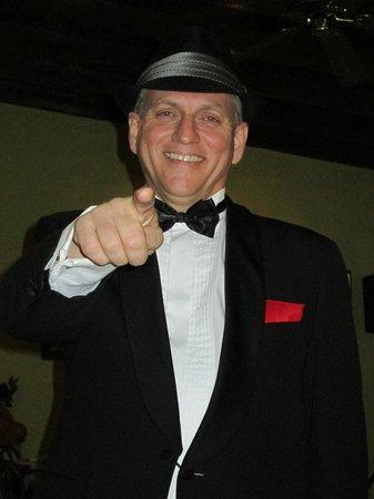 Aruba Sinatra Dinner Show: Fred DeJong as Frank Sinatra