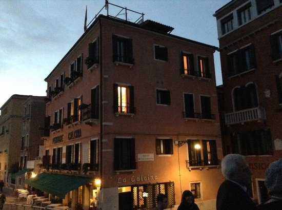 Pensione La Calcina: Evening view