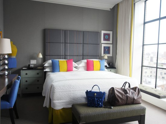 Crosby Street Hotel: I adore the ecletic decor of the hotel!