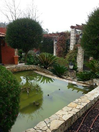 O Casarao: nice garden