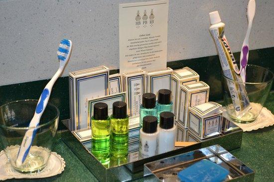 Palace Bonvecchiati: Produits salle de bain