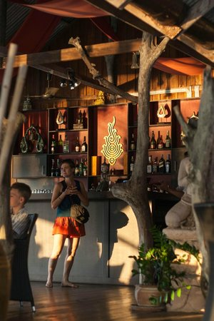 Buddha View Restaurant: Барная стойка