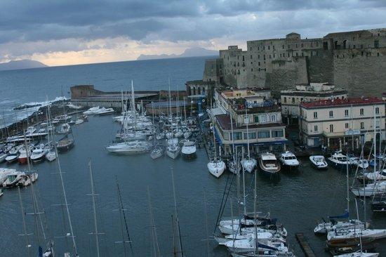 Grand Hotel Santa Lucia: view of the marina
