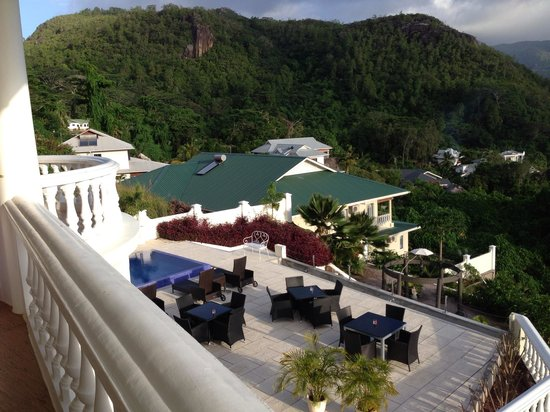 Petit Amour Villa: La vue depuis le balcon