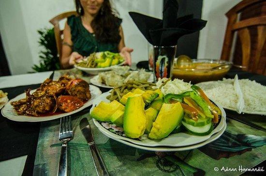 La Autentica: Abendessen