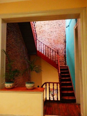Guemes y Oro: Stairs to terrace