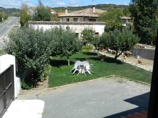 Casa de la Cadena: El jardín