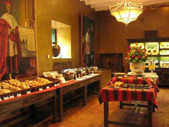 Belmond Hotel Monasterio: the sumptuous breakfast room
