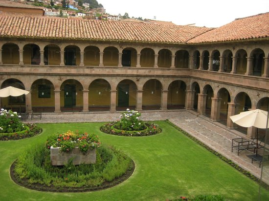 Belmond Hotel Monasterio: one of the courtyards in daylight