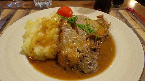 Brasserie Restaurant de l'Union: plat du jour gigot purée a l'ancienne