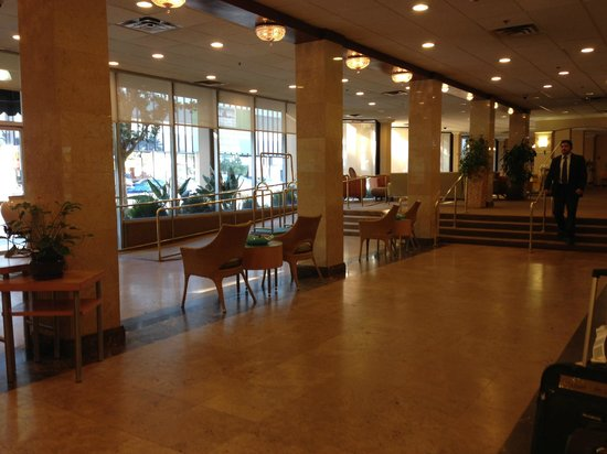 lobby picture of la quinta inn suites lax los angeles. Black Bedroom Furniture Sets. Home Design Ideas