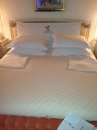 The Ritz London: turn down service Ritz London