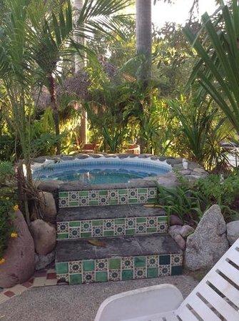 Casa Virgilios : Hot tub