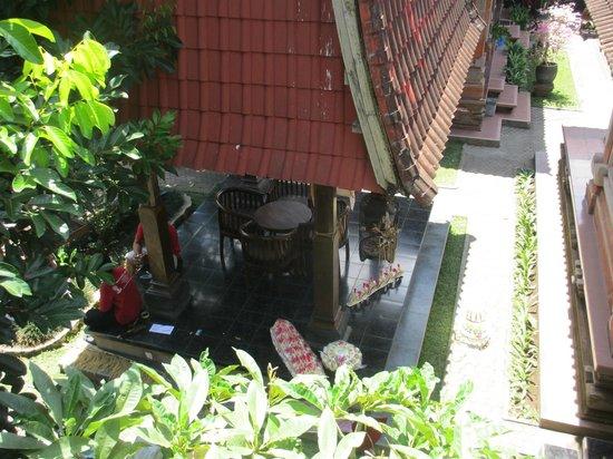 Ubud Permai 2: Chambres en bas