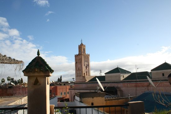 Riad Mur Akush: The view from the rooftop