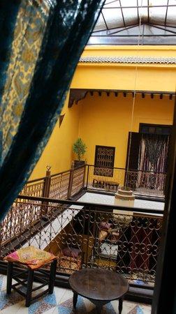 Riad SACR: Vista dalla camera