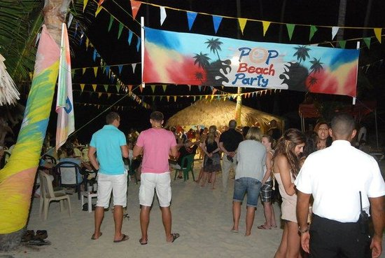 Grand Palladium Punta Cana Resort & Spa : night beach party