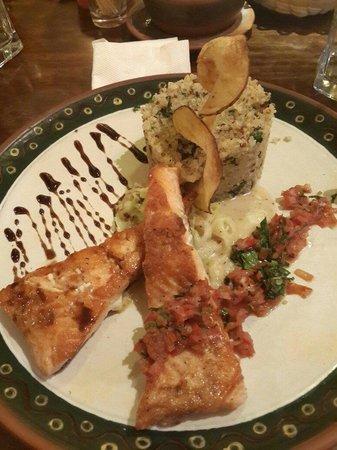 El Huacatay : Trucha andina... muy buena!!
