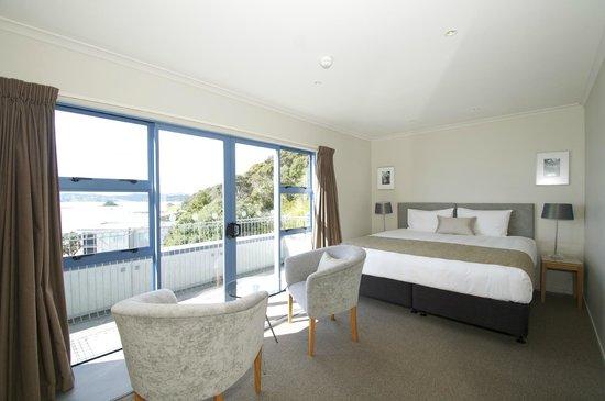 Blue Pacific Apartments Paihia: 2 bedroom 2 bathroom main bedroom