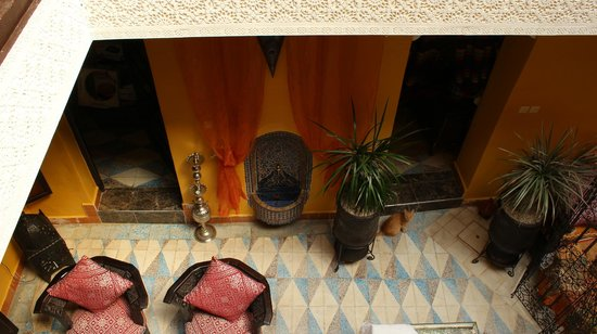 Riad SACR : Cortile interno