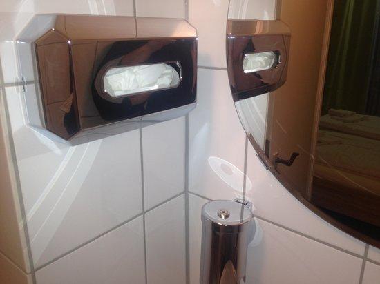 Continental Pfälzer Hof: badrum