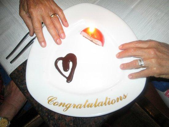 Windows on Aruba Restaurant : Happy Birthday