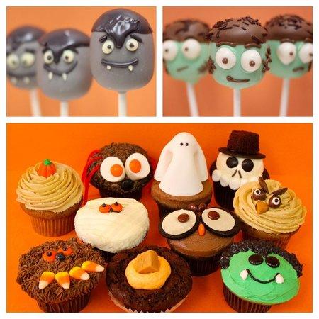 Cupcakes at Uptown: halloween | original cupcakes