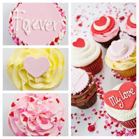 Cupcakes at Uptown: valentine's | original cupcakes
