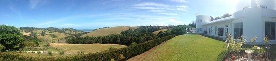 Matakana Castle: View