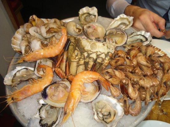 Le Comptoir des Mers : piatto di crostacei