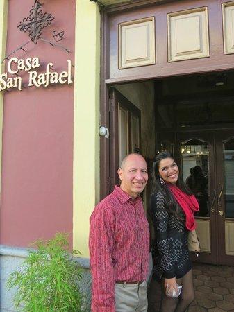 Casa San Rafael: Hotel Entrance