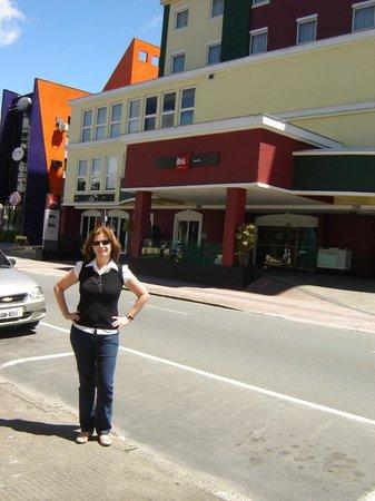 Ibis Joinville: Excelente localização