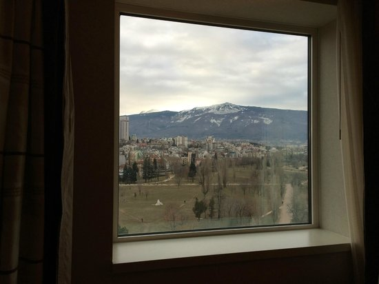 Hilton Sofia: Room view