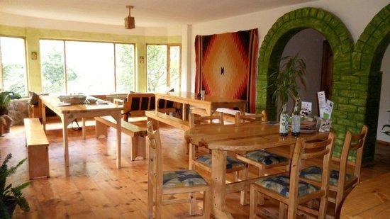 La Casa Verde- Eco Guest House: Comedor