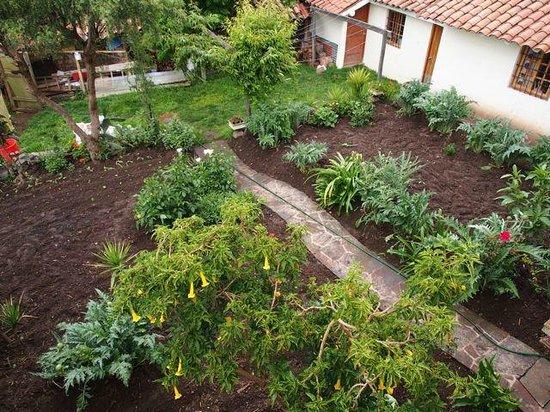 Casona La Recoleta: Back garden