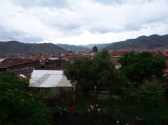 Casona La Recoleta: View from balcony