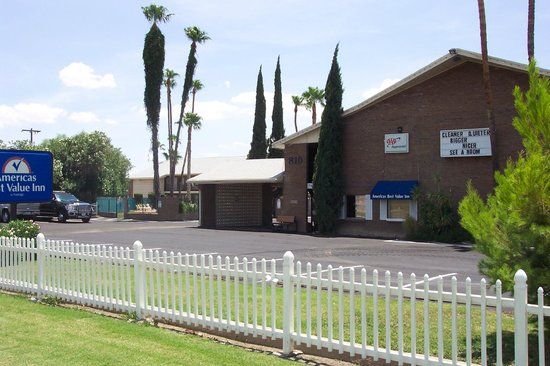 Americas Best Value Inn : Front of our property