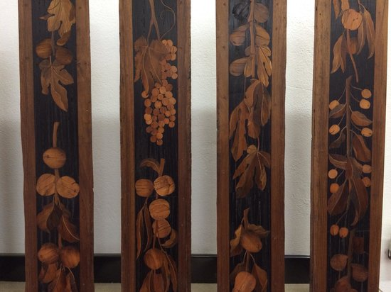 Museo dell'Opera del Duomo : A sample of the amazing wood inlay pieces (there were more impressive ones but I won't spoil it