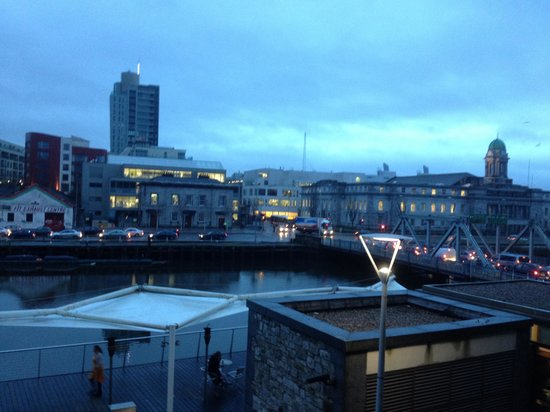 Clayton Hotel Cork City: View from room