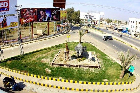Hyderabad, Pakistan: Zoo round about